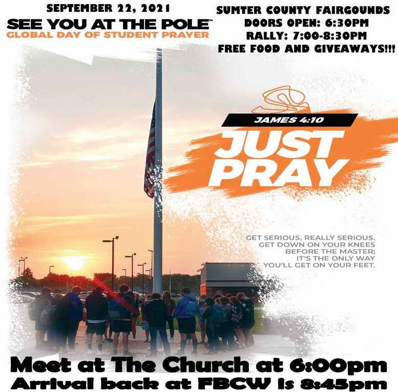 See You At The Pole Youth Rally