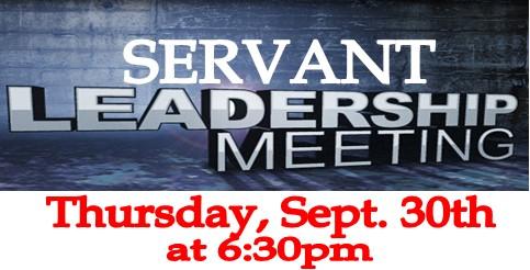 Servant Leader Meeting