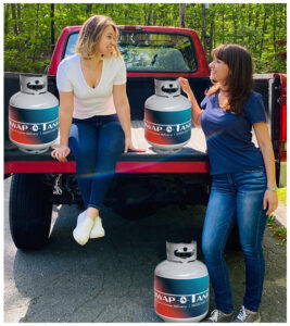 Toni Marie and Melanie from Swap A Tank
