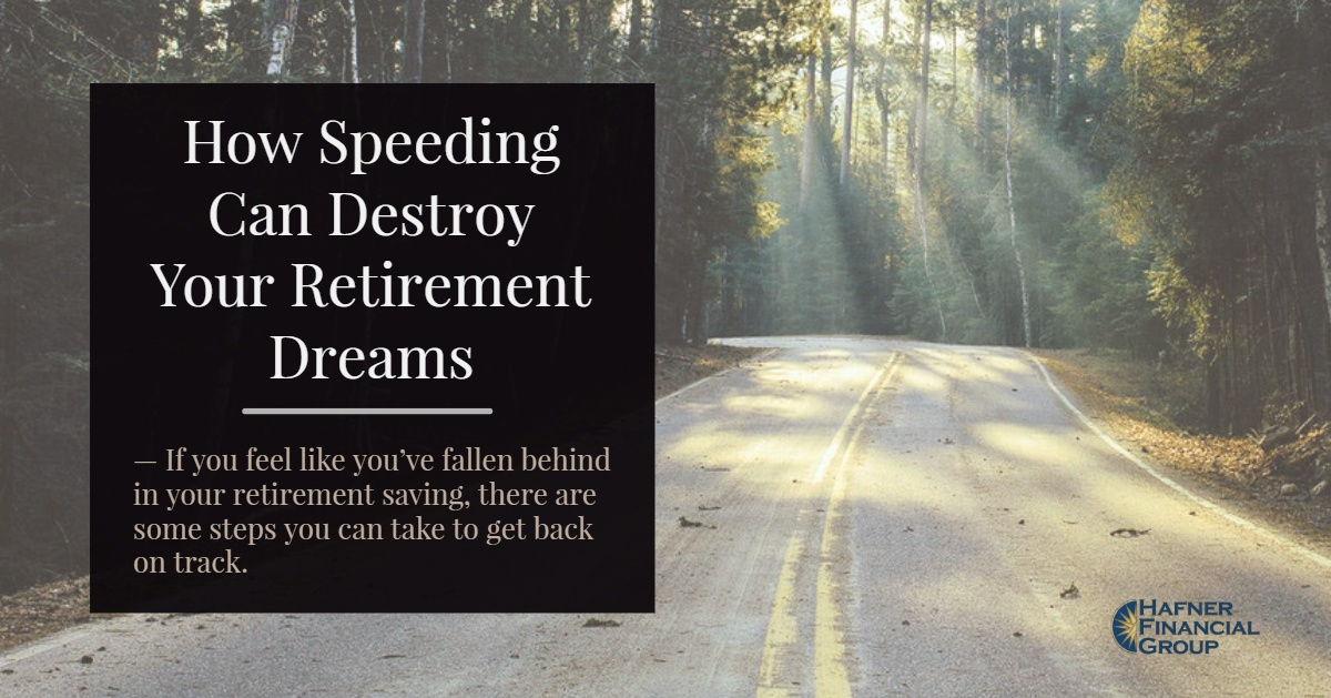 How Speeding Can Destroy Your Retirement Dreams