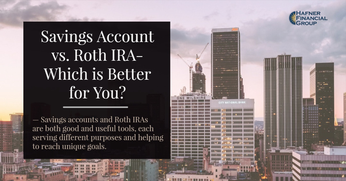 Savings Account vs Roth IRA – Which is Better for You?