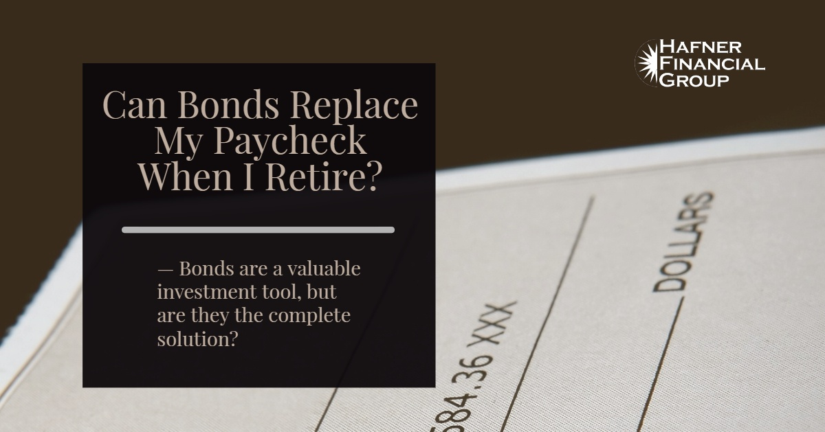 Can Bonds Replace My Paycheck When I Retire?