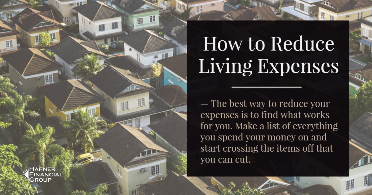 How to Reduce Living Expenses