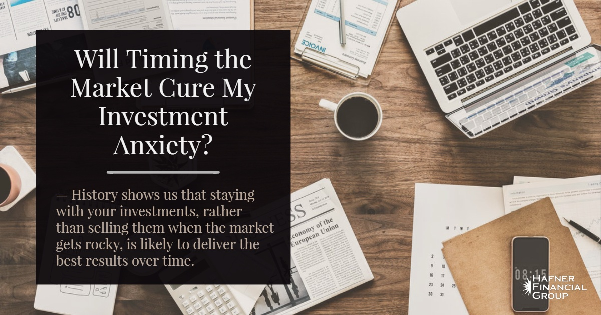 Will Timing The Market Cure My Investment Anxiety?