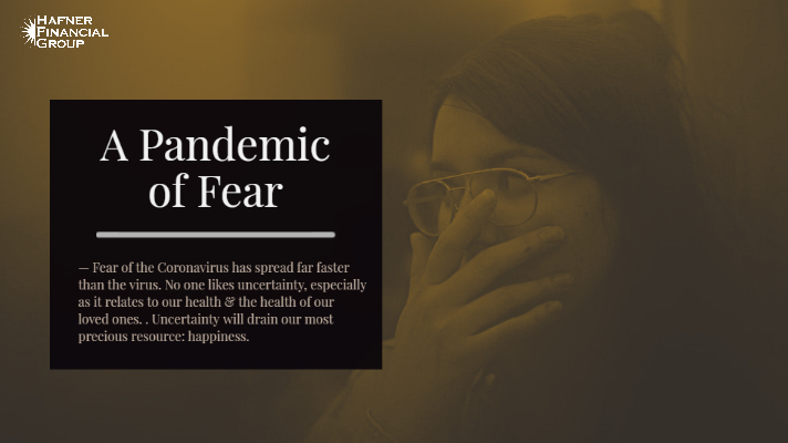 A Pandemic of Fear