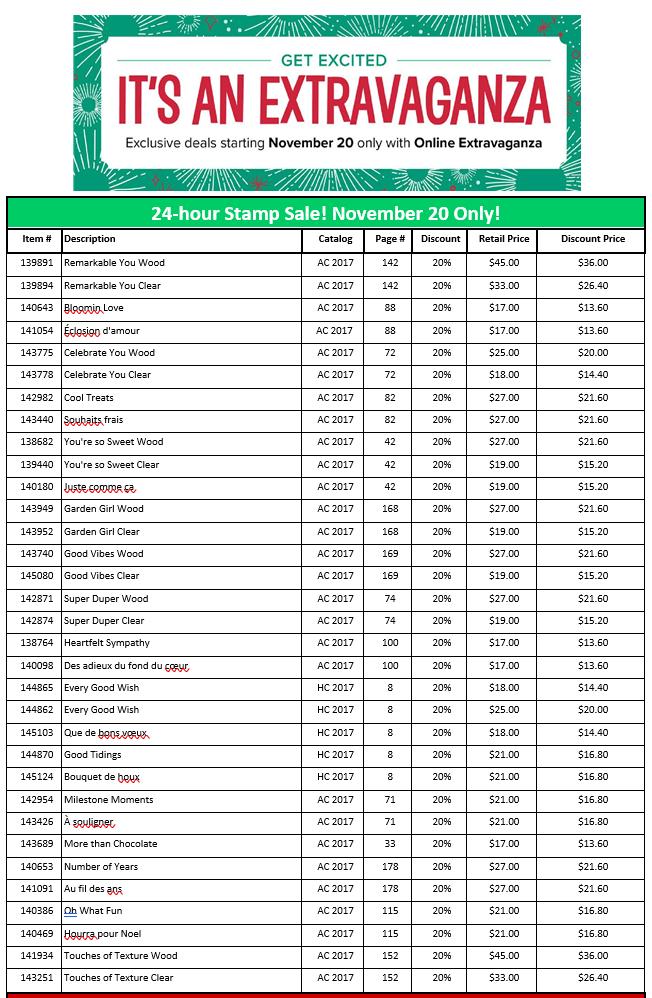 Sale List