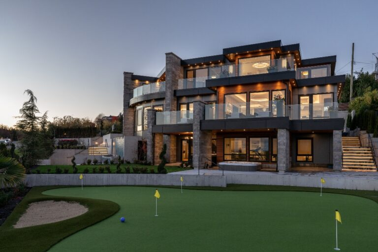 Folio.YVR Issue #7: 815 King Georges Way is a $16M Mansion