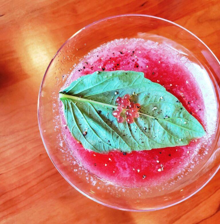 Folio.YVR Issue #6: New Twist on Toasting: Cocktails at Villa Eyrie Resort