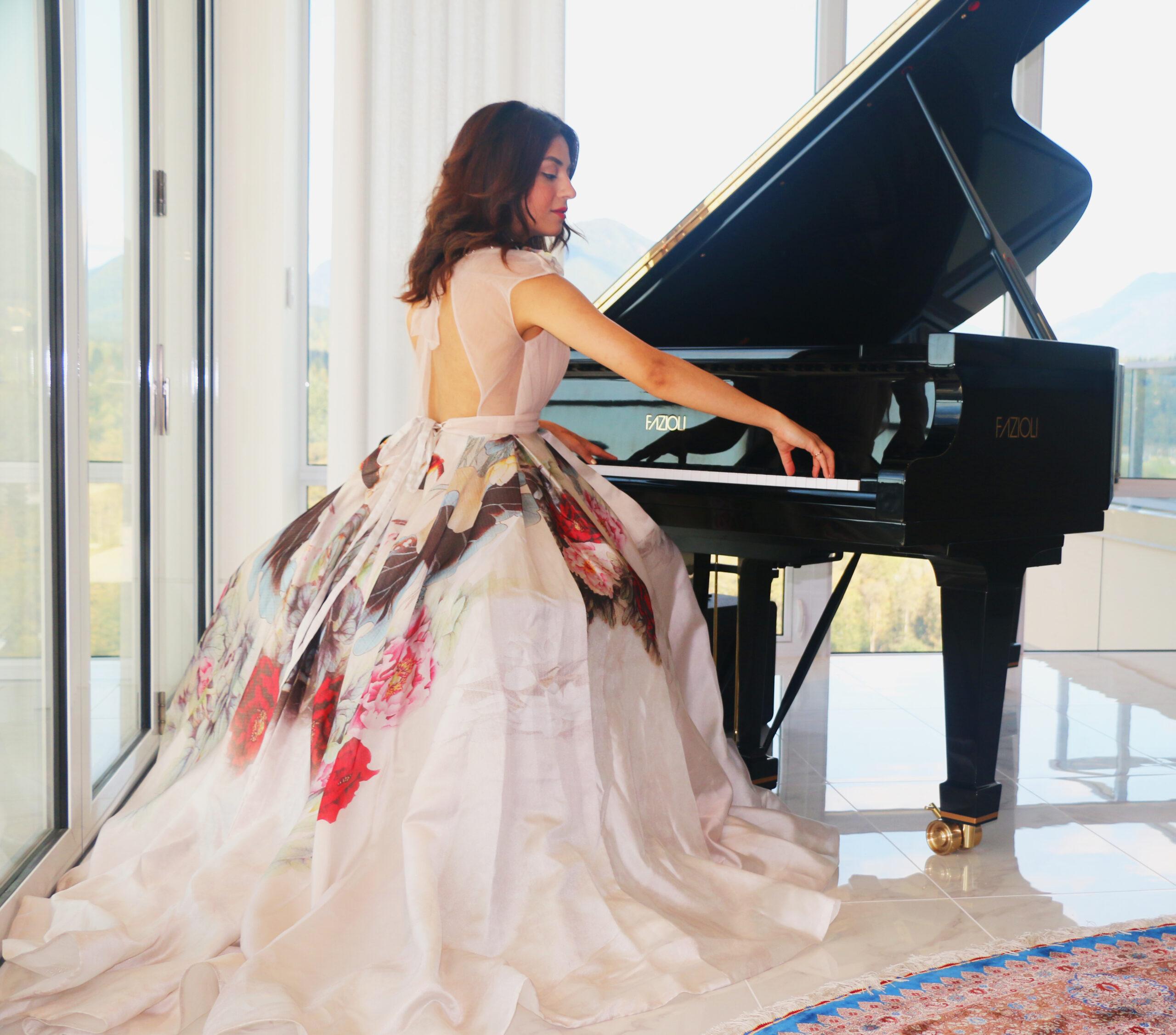 sanaz sotoudeh, pianist, dubai, helen siwak, mona rose butler, fazioli, vancouver, vancity, bc, yvr, ecoluxluv, folioyvr
