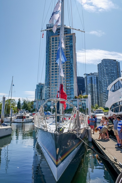 the maiden, yacht, charity, ecoluxluv, folioyvr, helen siwak, coal harbour, vancouver, bc, vancity, yvr