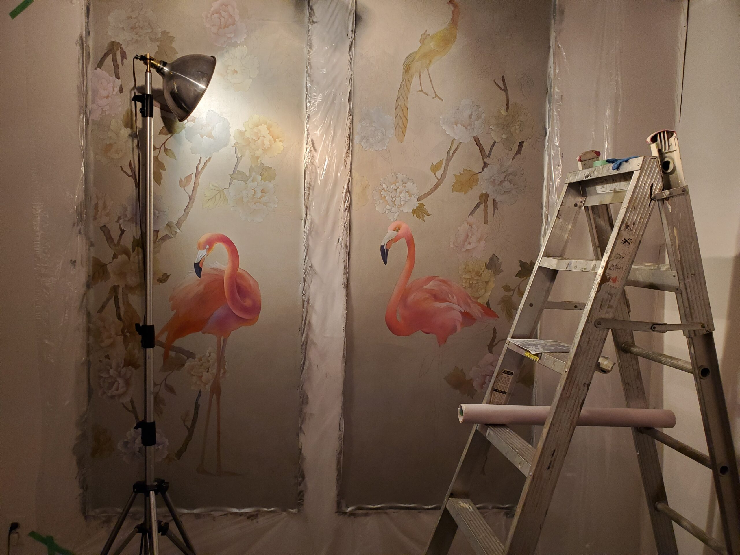 Vetrova paintings with ladder