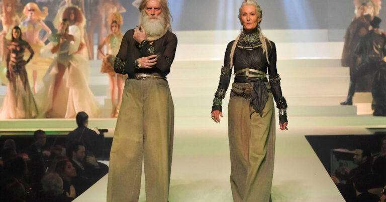 Folio.YVR Friends: Jean-Paul Gaultier Closes Haute Couture Runway with Canada's Fashion Santa