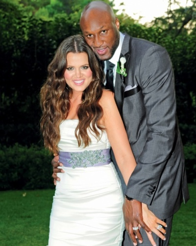 Khloe Kardashian and Lamar Odom married
