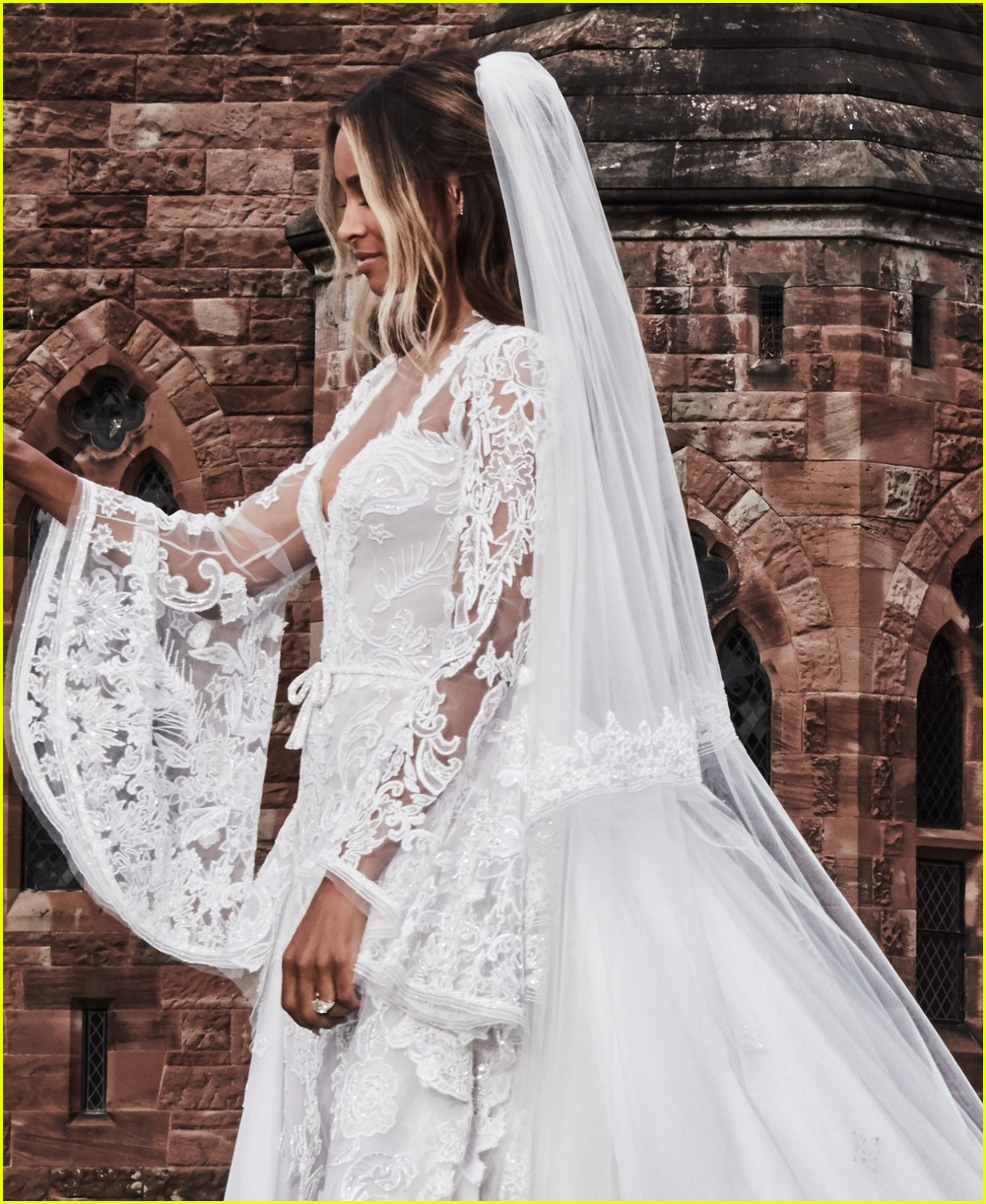 celebrity wedding ciara