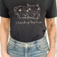 NEW hand stitched tees to benefit SUFP!!!
