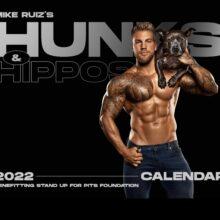 HUNKS & HIPPOS 2022 calendar is available NOW!!!