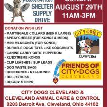 SUFP Donation Drive CLEVELAND!!