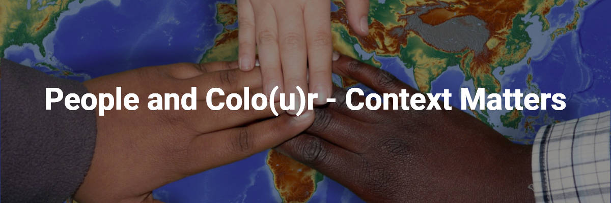 People and Colour - Context Matters