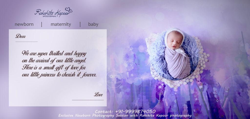 Newborn Photography Gift certificate | Rakshita Kapoor Photography