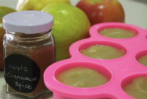 Apple, Pear, Cinnamon & Nutmeg Puree