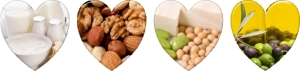 Low Fat Dairy and Nuts