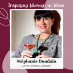 Stéphanie Dondain Owner of Chateau Cabezac
