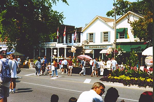 Downtown Niagara on the Lake
