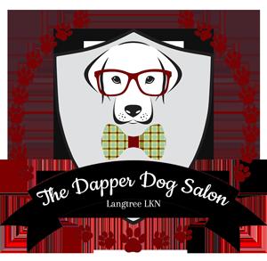 the dapper dog salon logo