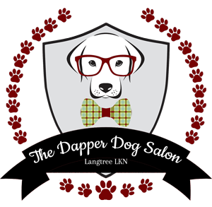 the dapper dog salon logo