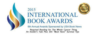 INTERN BOOK AWARD WITH FINALIST STICKER