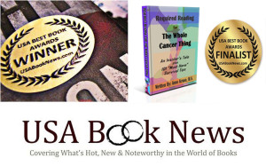 USA AWARD WITH BOOK AND GOLD STICKER