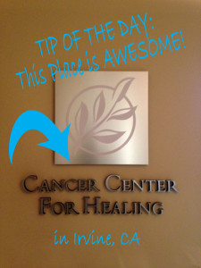 CANCER CTR FOR HEALING BLOG