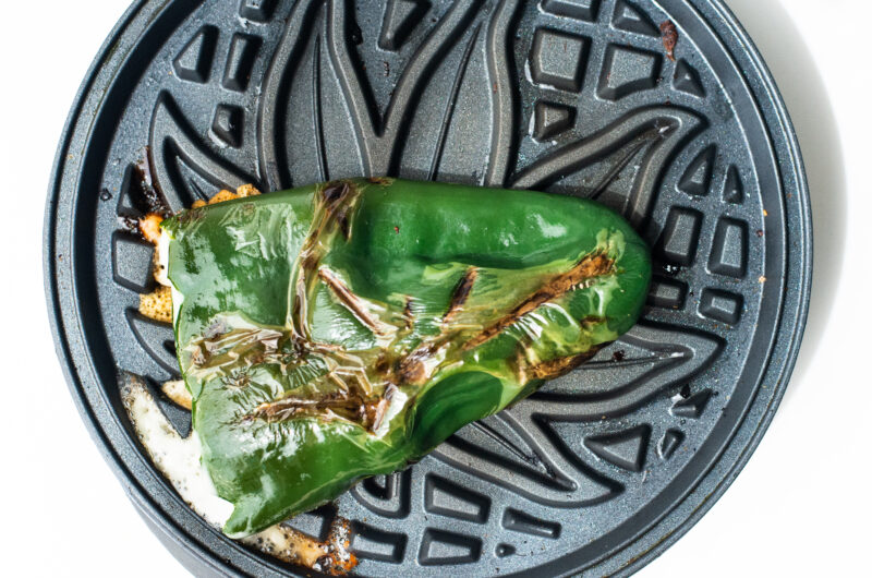 Grilled Stuffed Chilis