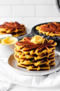 Gluten Free Jalapeno Cornbread w/ Whipped Honey Butter