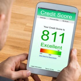 credit score on an app