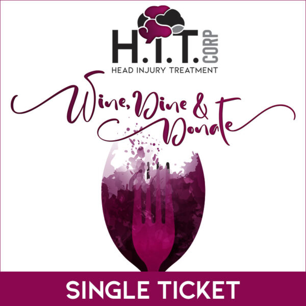 Single ticket to H.i.T. Corp's fundraising dinner at Rose's Daughter