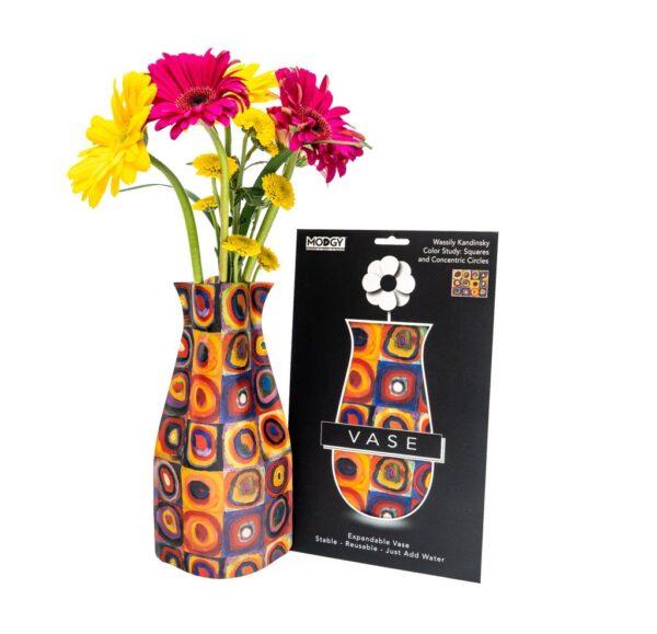 Modgy kandinsky circle vase