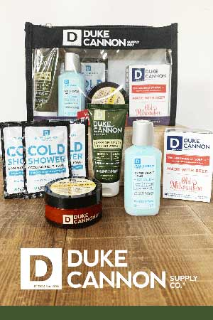 Duke cannon travel kit