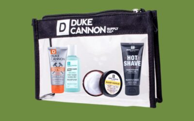 New Duke Cannon Plus Get a Free Travel Bag!