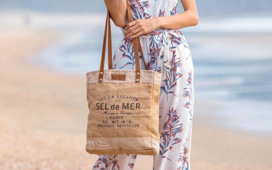 New Organic Fabric Myra Bags