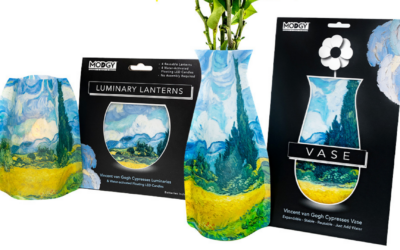 New Artistic Modgy Luminaries and Vases Coming Soon