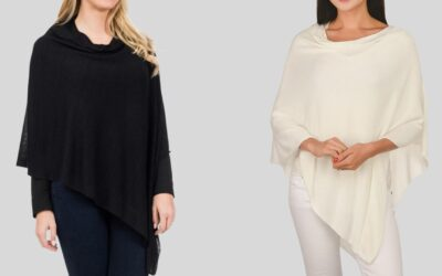100% Bamboo Ponchos Have Arrived