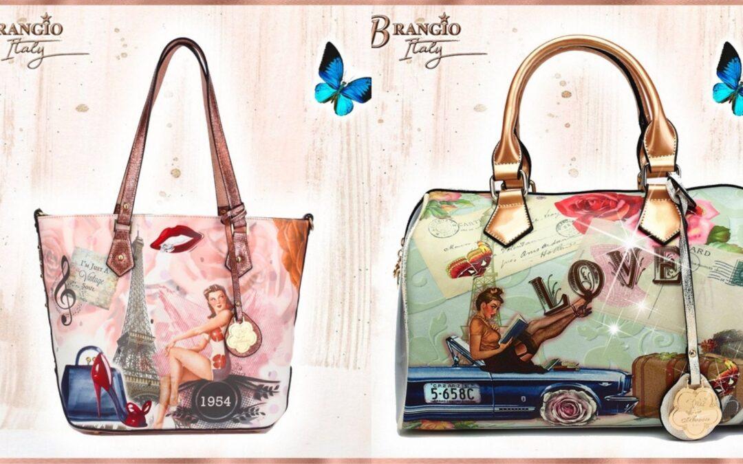 New Italian Vegan Leather Bags! Introducing Brangio
