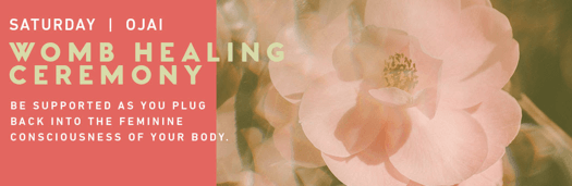 womb healing ceremony