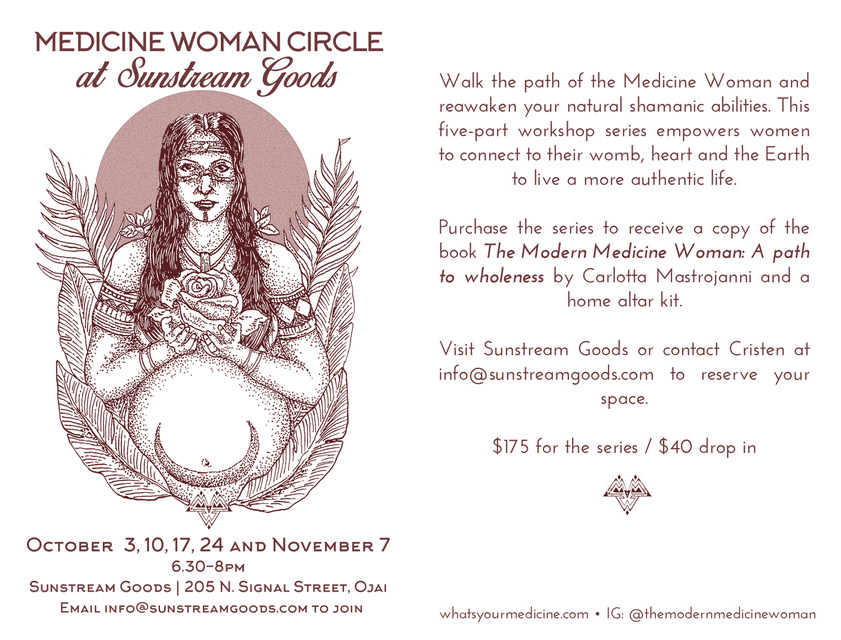 sunstream goods womb circle
