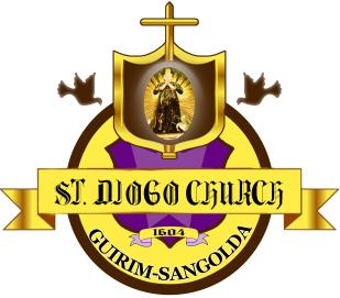 St. Diogo Church, Guirim Sangolda Logo