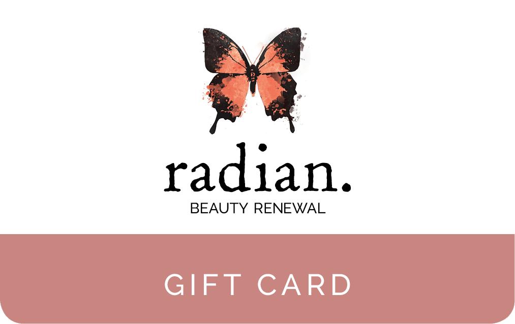 Radian Beauty Renewal Gift Card