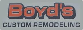 Boyd's Custom Remodeling, Inc