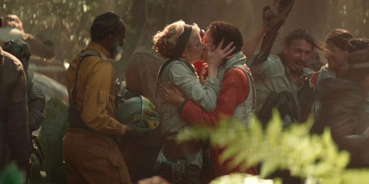The Rise of Skywalker beso gay