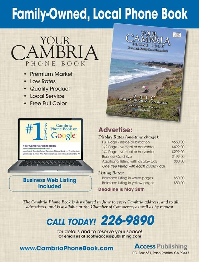 cambria phone book